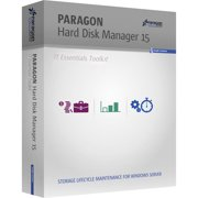 Paragon 299PMETLAS53 Hard Disk Manager 15 IT Essential Tool Kit, 3 Years, 26-50 Seats (Email Delivery)