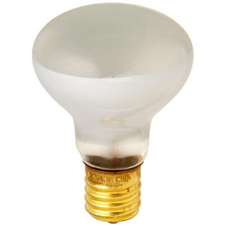 - 40R14N 40-Watt Incandescent R14 Mini Reflector Light Bulb, Intermediate Base, Long Life (1500 hours) By Bulbrite