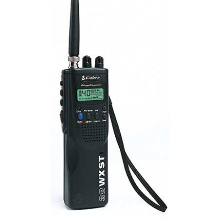 Cobra Handheld Cb Radio W  10 Weather Channels