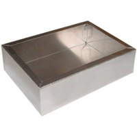 """Chassis Box - , Aluminum, 7"""" x 5"""" x 2"""" By Hammond"""
