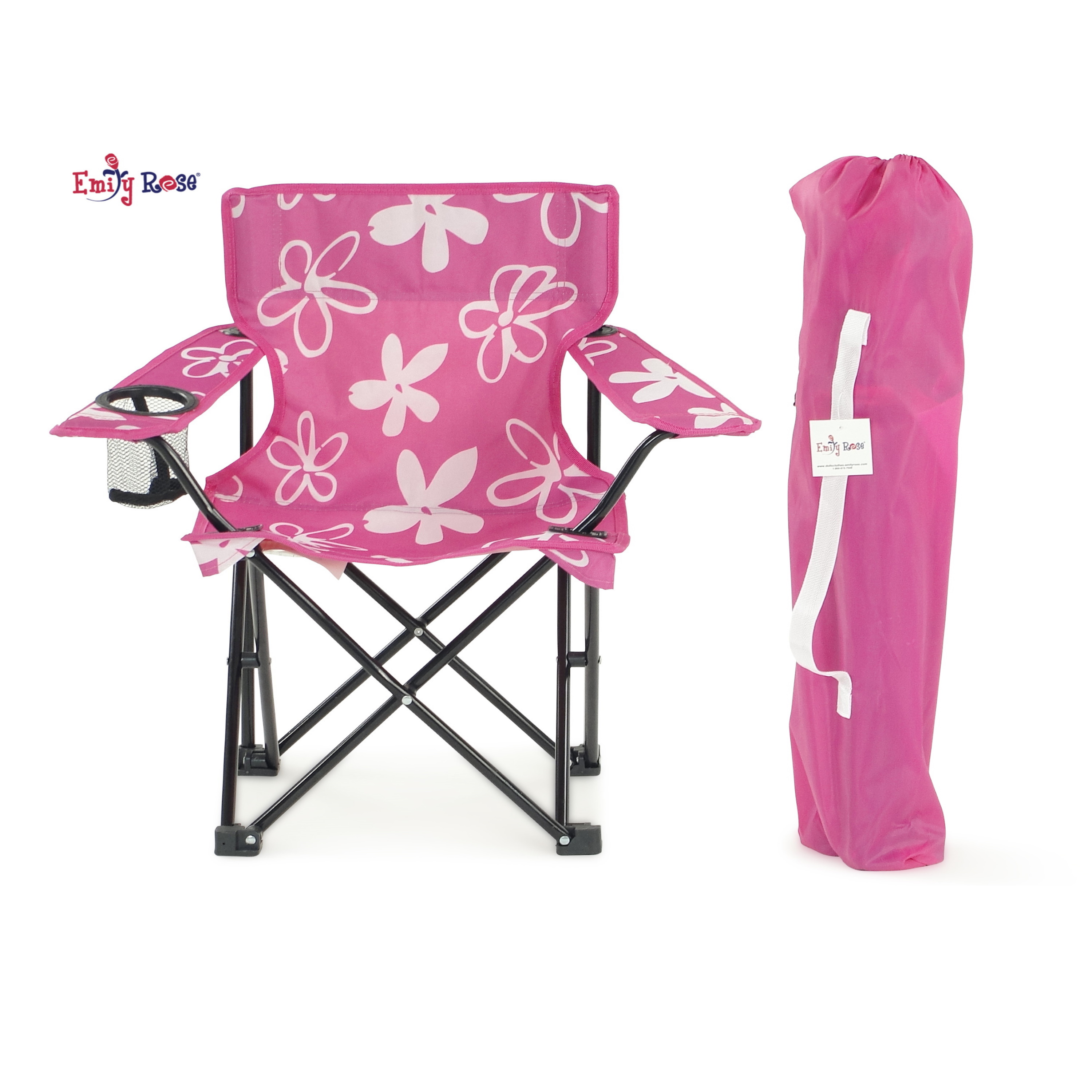 Kids Children Camping Chairs Pink and Blue