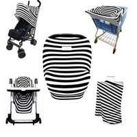 Carseat Canopy Cover - Baby Car Seat Canopy - All-in-1 Nursing Breastfeeding Covers Up - Baby Car Seat Canopies For Boys, Girls - Stroller Covers - Shopping Cart Cover
