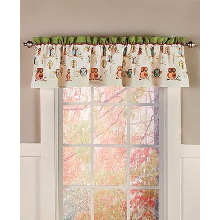 Owl Bathroom Collection Window Valance