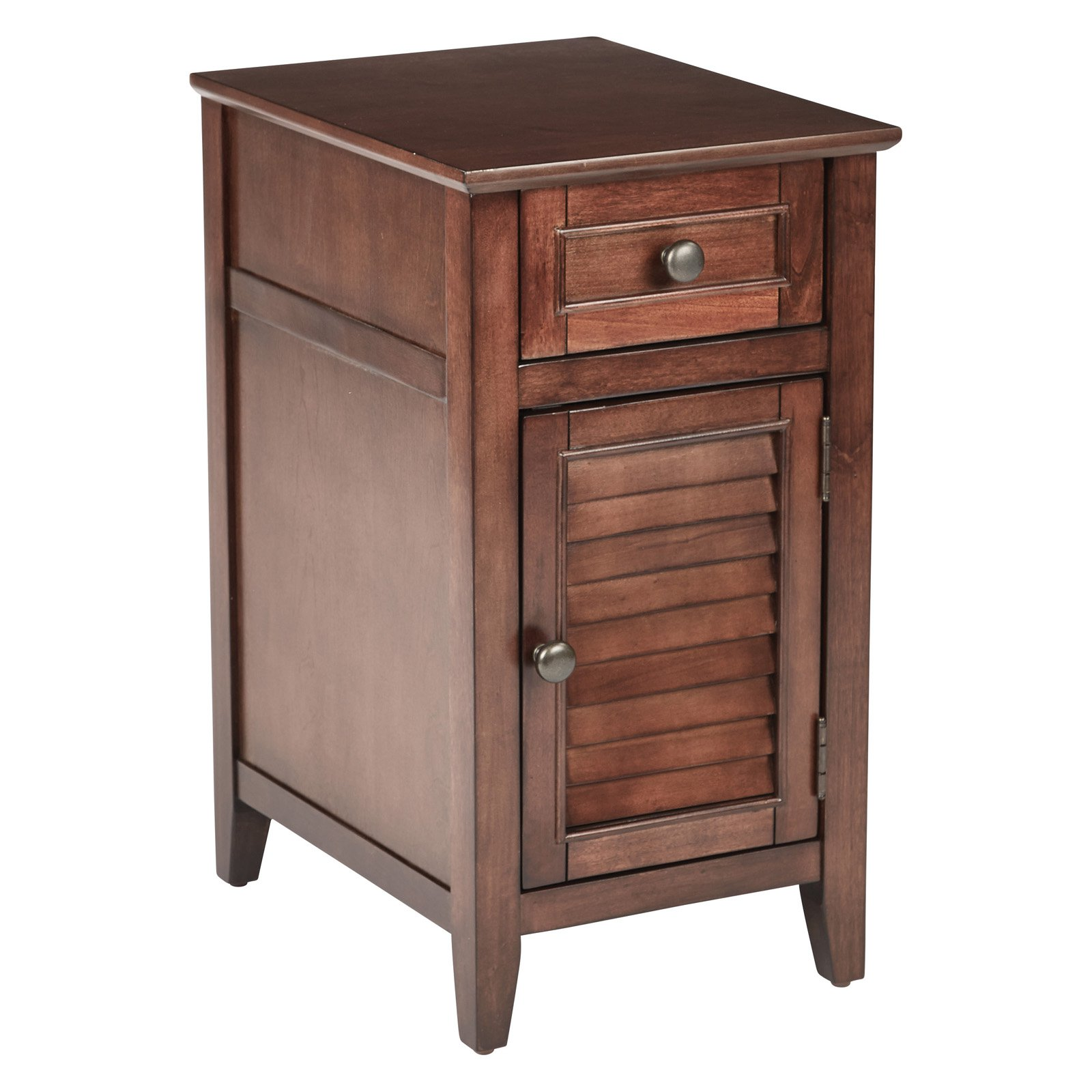 Brooke Chair Side Table, Chestnut