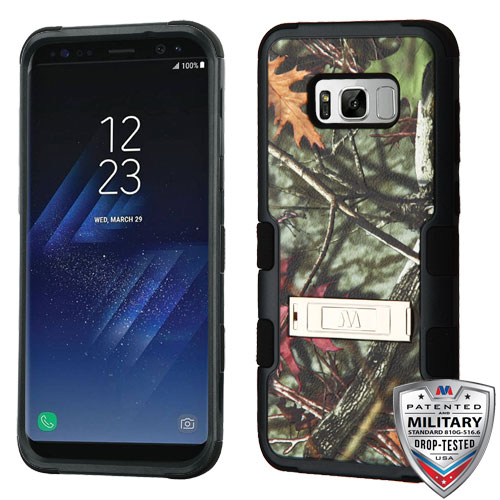 For Samsung Galaxy S8 Plus TUFF Hybrid Phone Armor Protector Case Cover w/Stand