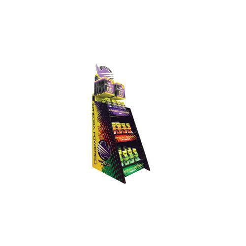 RHINO RUSH(TM) RR60PP Energy Shot & Tablet Assortment 3-Tier Display