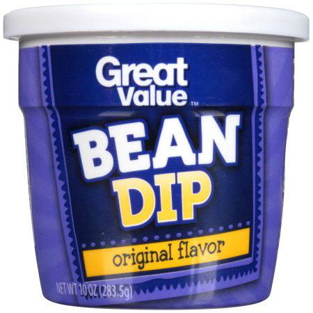 (3 Pack) Great Value Original Bean Dip, 10 oz (5 Layer Bean Dip Halloween)