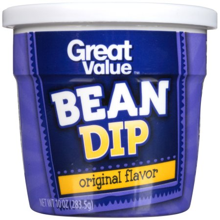 Great Value Original Bean Dip, 10 oz