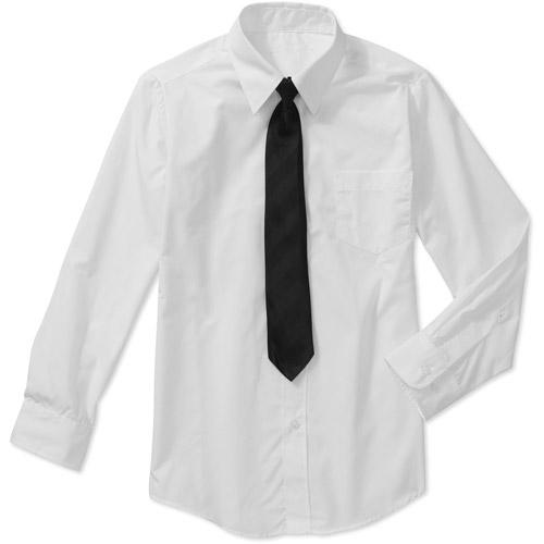 George Boys' 2 Piece Dress Shirt and Tie Set