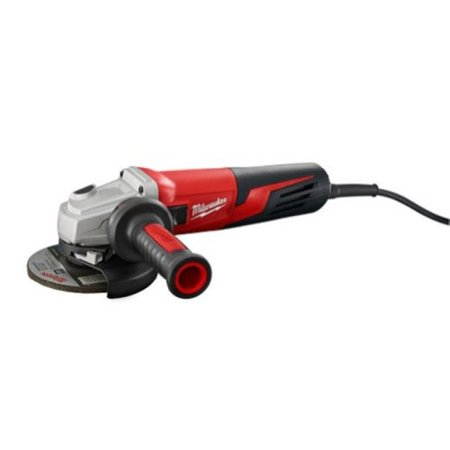 Milwaukee 6117-33 5-inch Small Angle Grinder Slide Switch, Lock-on ()