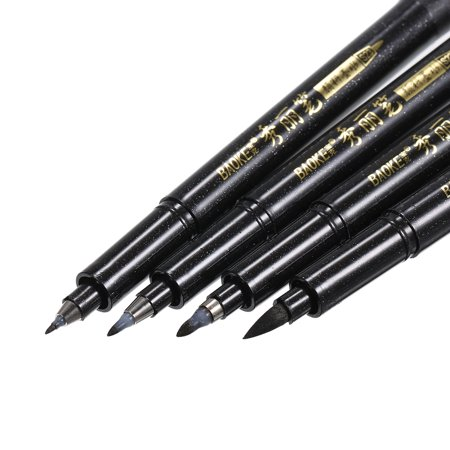 Portable Chinese Japanese Calligraphy Brush Sketch Pen Writing Supplies Art Script Painting Stationery Tool](Chinese Pens)