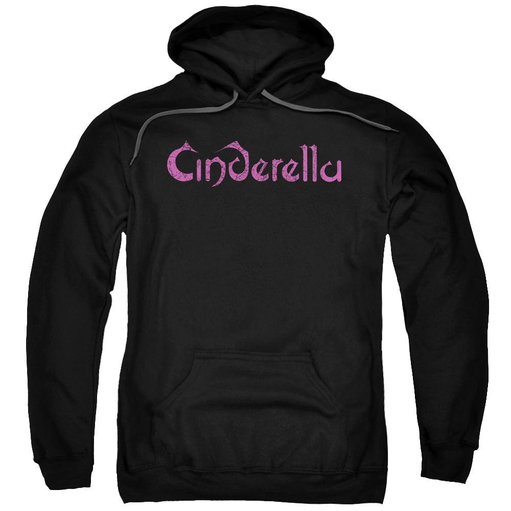 Cinderella Logo Rough Mens Pullover Hoodie