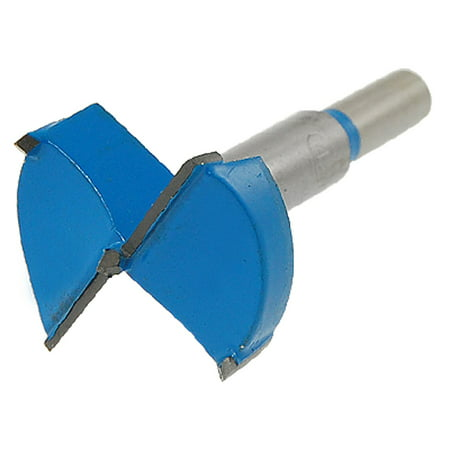 Unique Bargains Carpentry Blue Gray 42mm Hinge Boring Bit Drill Tool