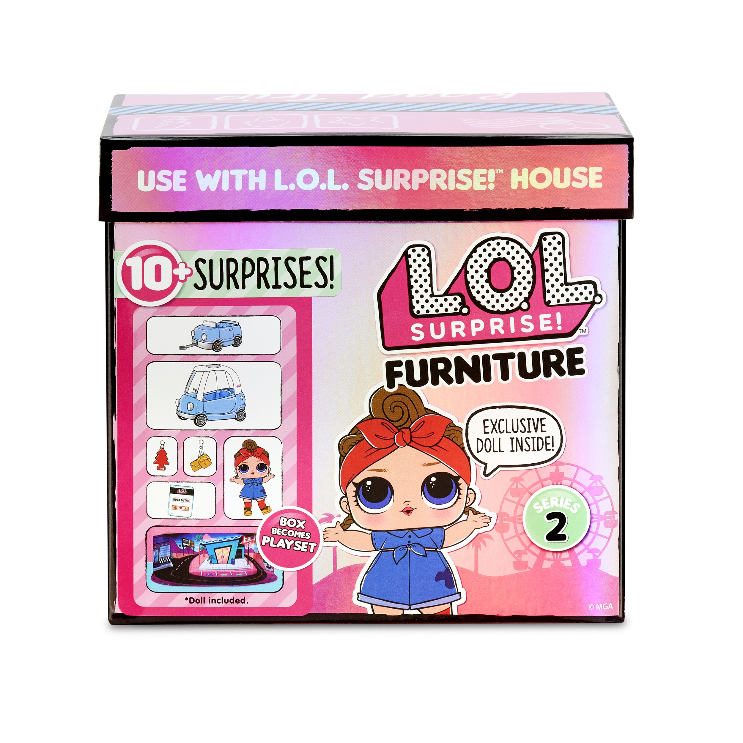LOL Surprise Doll SIS SWING Series 1 Doll opened