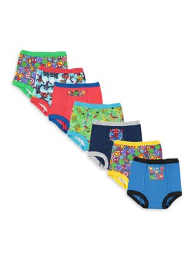 Marvel Superhero Adventures Toddler Boys Training Pants, 7-Pack