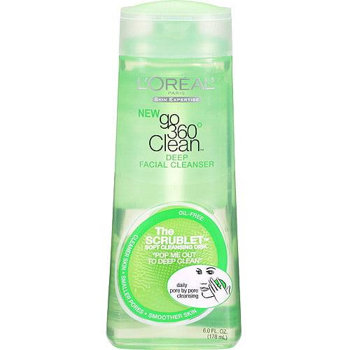 L'Oreal Paris Go 360 Clean Deep Facial Cleanser, 6 oz