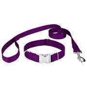 Country Brook Petz Vibrant 25 Color Selection - Premium Nylon Dog Collar and Leash