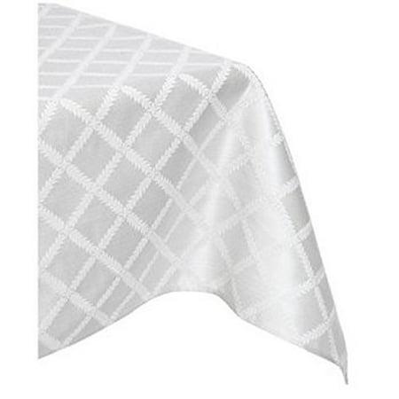 Lenox Laurel Leaf 70 Quot X122 Quot Oblong Tablecloth Platinum