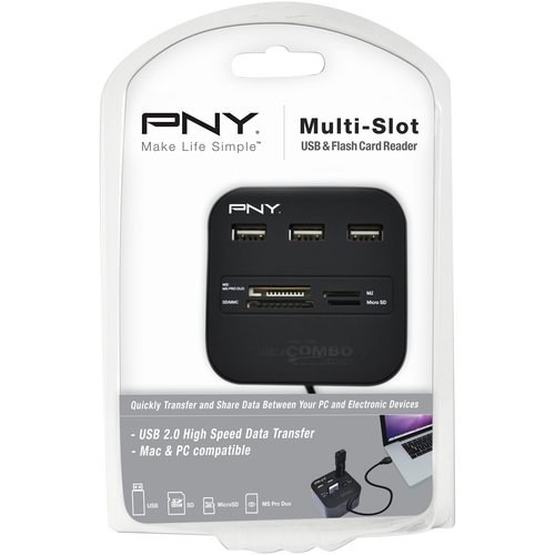 PNY Memory Card Reader and USB Hub Combo