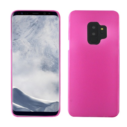 MUNDAZE Pink Candy Skin Flexible TPU Case For Samsung Galaxy S9 Phone