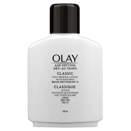 Olay Age Defying Classic Daily Renewal Lotion With Spf 15  120 Ml