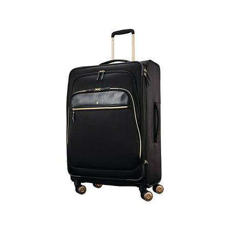 Samsonite Mobile Solution Nylon 4-Wheel Spinner Luggage, Black (128169-1041)