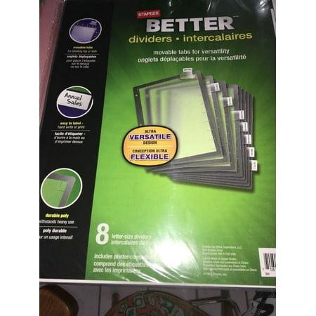 staples better dividers 37150. Black Bedroom Furniture Sets. Home Design Ideas
