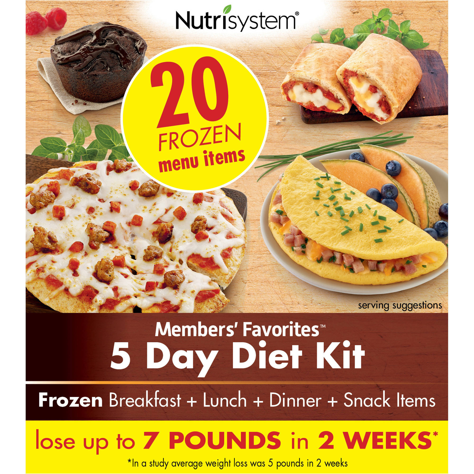 Nutrisystem Members' Favorites 5 Day Diet Kit