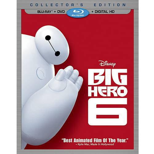 Big Hero 6 (Blu-ray + DVD + Digital HD) (Widescreen) by