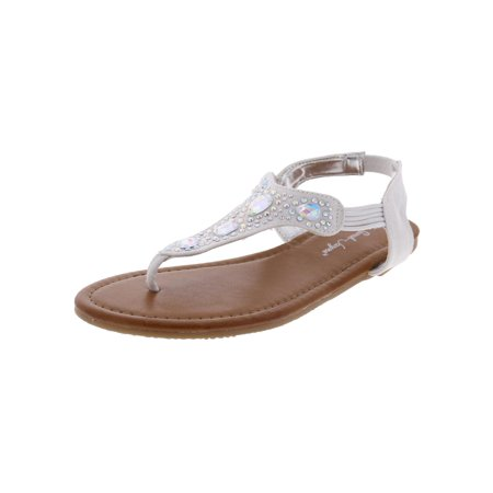 Girls Cleopatra Beaded Casual Slingback - Cleopatra Shoes