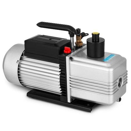BestEquip 110V Stage 12CFM 1HP High Performance Rotary Vane Vacuum Pump HVAC Field