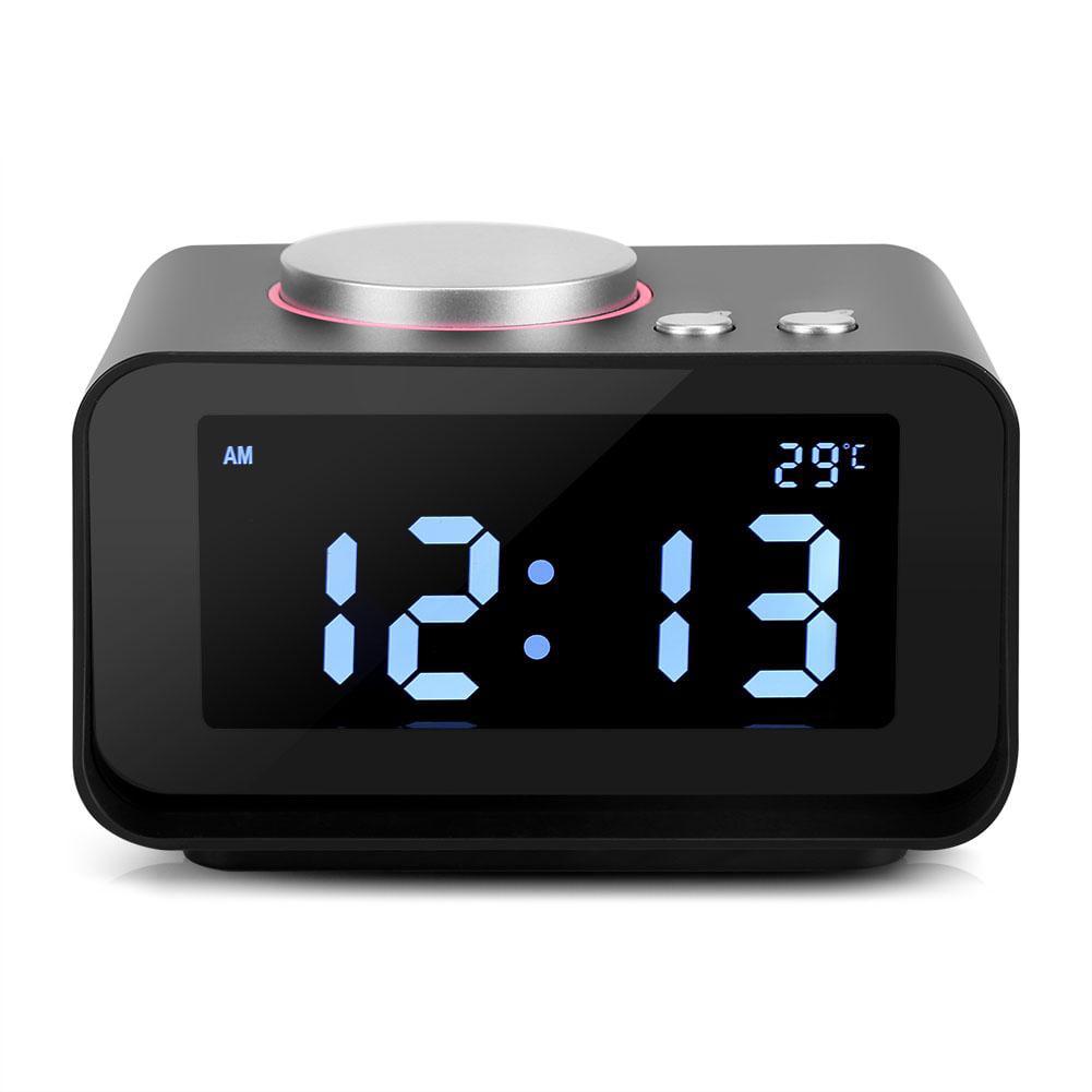 Digital Alarm Clock With Speaker Function Fm Radio Loud