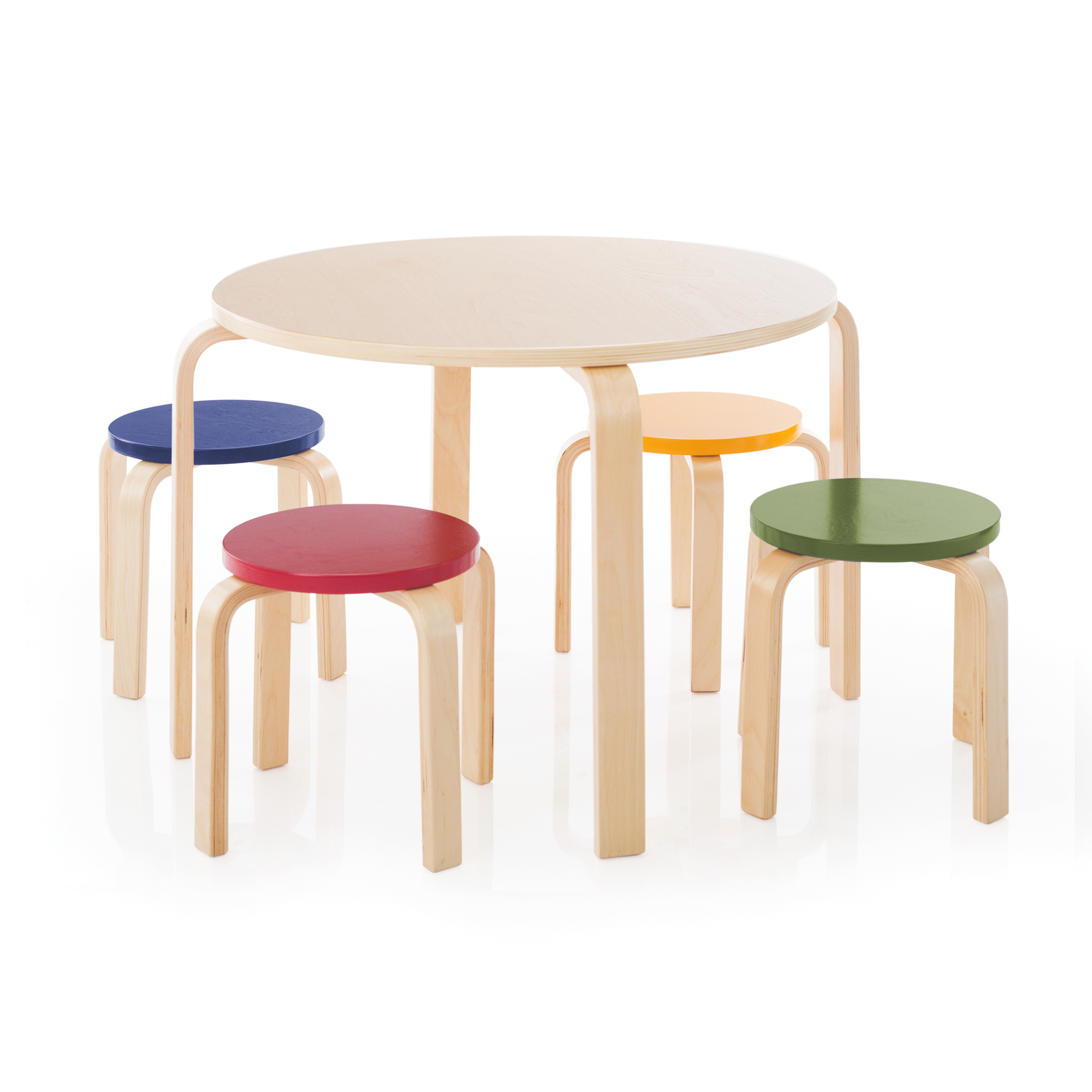 Table Chairs Walmart: Nordic Table & Chairs Set