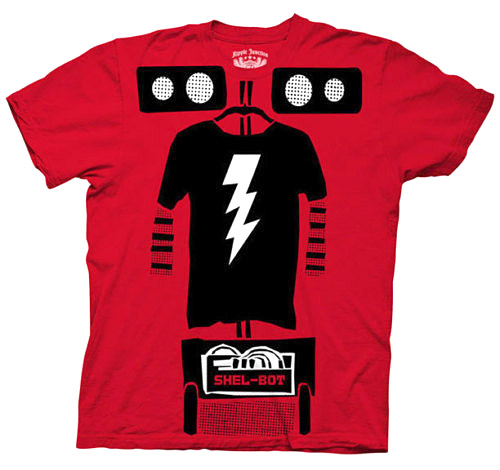 The Big Bang Theory Shel-bot Costume T-shirt