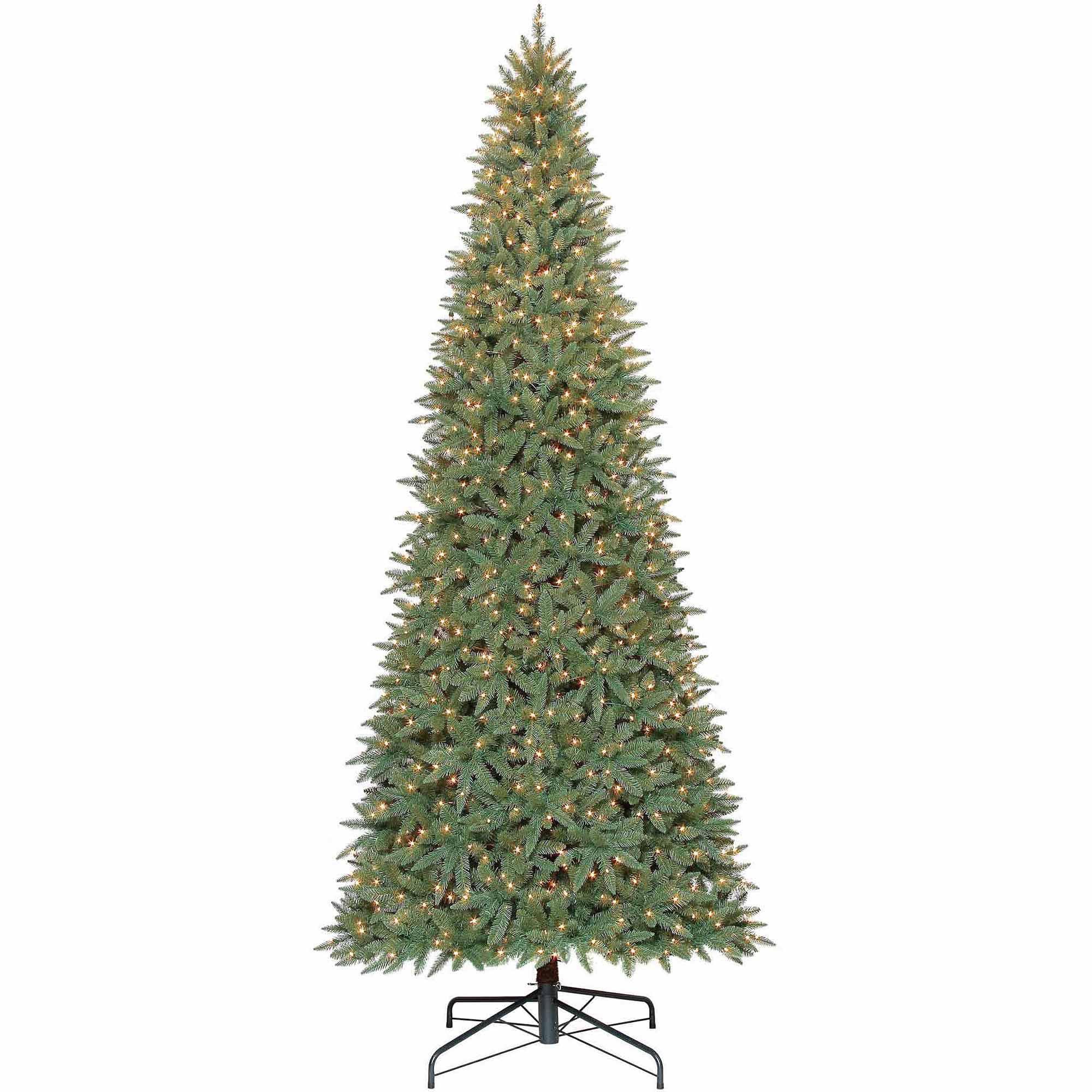 Holiday Time 12ft Williams Slim Pe/pvc Quick Set Tree - Walmart.com