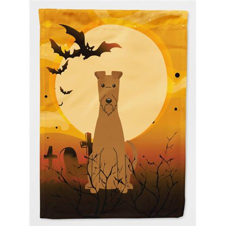 Carolines Treasures BB4328CHF Halloween Irish Terrier Flag Canvas House Size - image 1 de 1