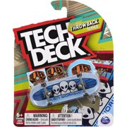 Tech Deck, 96mm Throwback Series Fingerboard (Styles May Vary)