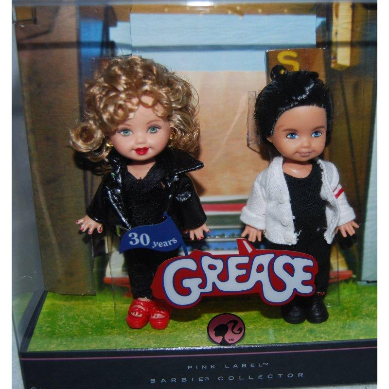 Mattel Grease Barbie Kelly Celebrity Kelly and Tommy Dolls by Mattel
