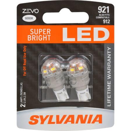 Sylvania Zevo 921 T 16 W16w White Led Bulb Pack Of 2