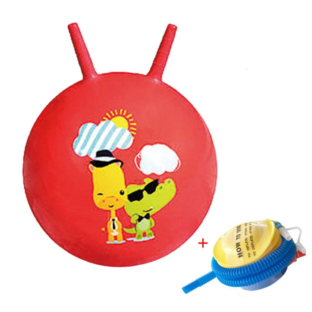 Deer ROBOTIME Hopper Ball Inflatable Bouncy Space Hopper for Toddlers Jump Bouncing Toy Outdoors Indoor Games for Kids Age 3 and Up Pump Included