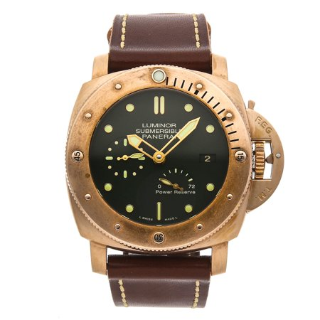 "Pre-Owned Panerai Luminor Submersible 1950 3-Days Power Reserve ""Bronzo"" Limited Edition PAM 507"