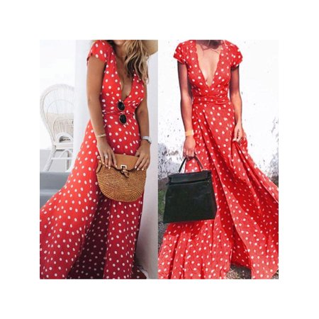62236dc7951 Phoebe cat - Summer Boho Long Maxi Dresses