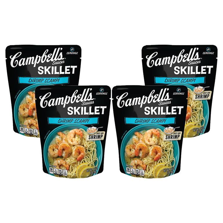 (4 Pack) Campbell's Skillet Sauces Shrimp Scampi, 11 oz.