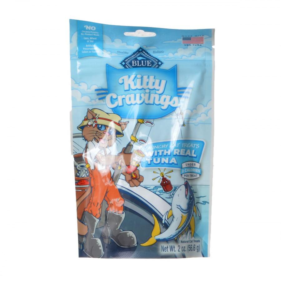 Blue Buffalo Kitty Cravings Crunchy Cat Treats Real Tuna by