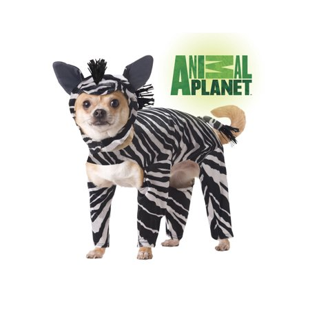 Animal Planet Zebra Pet Costume
