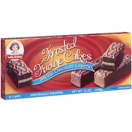 Little Debbie Fudge Cakes - 12oz/8ct