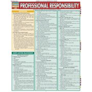 BarCharts 9781423208785 Professional Responsibility Quickstudy Easel