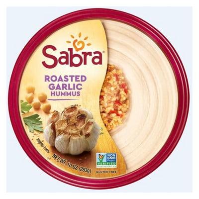 Sabra Roasted Garlic Hummus 10 oz