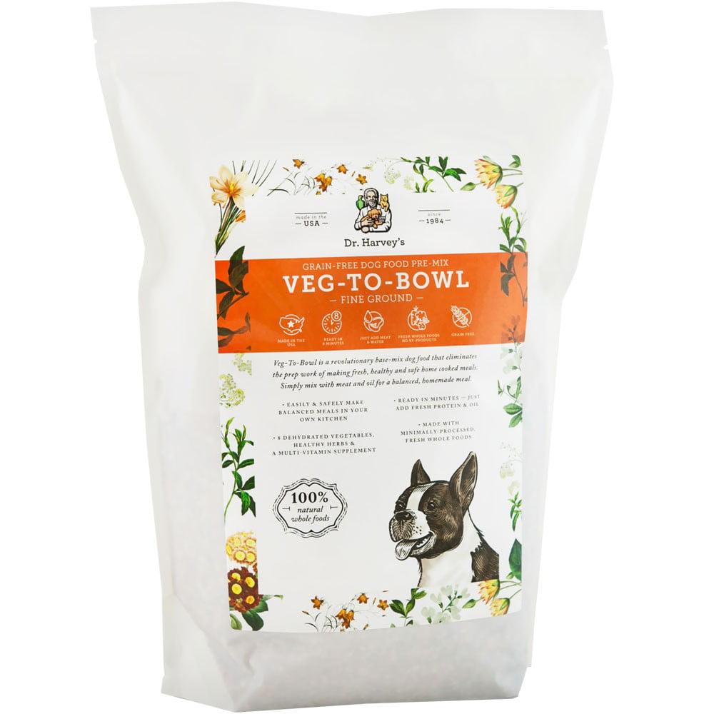 Dr. Harvey's VegToBowl Fine Ground Vegetable Dog Food 1 lb