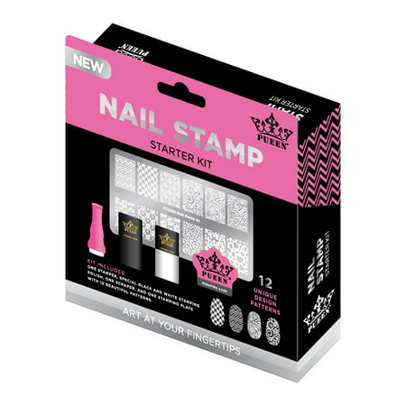 Pueen Nail Stamp Starter Kit for $<!---->
